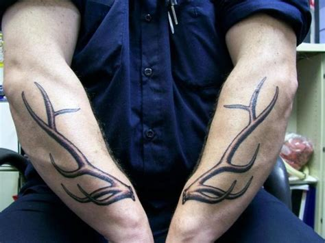 deer antler tattoos collection  meanings