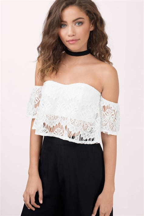 crop blouse lace crop top imgkid com the image kid has it