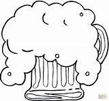 Cerveza Colorare Disegni Colorear Birra Schiuma Kleurplaat Jarra Gratis Dibujos Oktoberfest Dibujo Disegno Beer Coloring Kleurplaten Bier Supercoloring Immagini Stampare sketch template