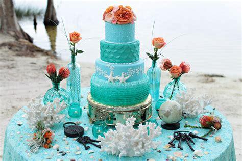 Beach Wedding Cakes Archives