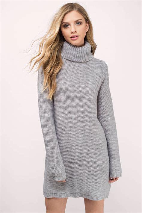 turtleneck sleeve knit dress designer sweater dresses for all