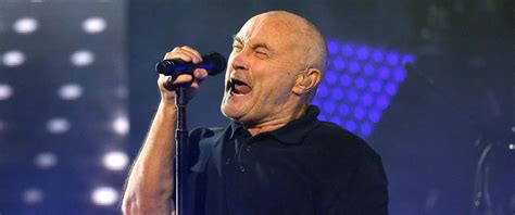 Phil Collins Responds To The Rumor He Divorced Wife By Fax