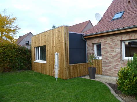bardage bois chambre extension a ossature bois comment agrandir sa maison