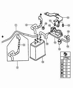 Dodge Stratus Valve  Fuel Vapor Control Check   Lx    Lxi
