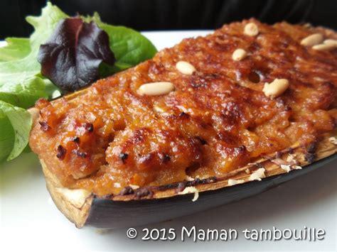 fr recette de cuisine aubergine farcie maman tambouille