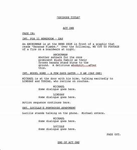 movie script outline template gallery With free movie script template