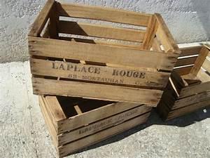Caisse Bois Deco : transformer une vieille caisse en bois en jardiniere copro jardiniere pinterest ~ Teatrodelosmanantiales.com Idées de Décoration