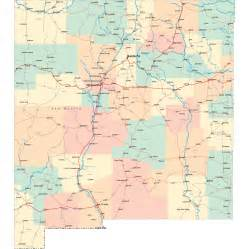 New Mexico Highway Map