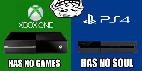 Conslole Wars Hilarious Playstation Vs Xbox Memes