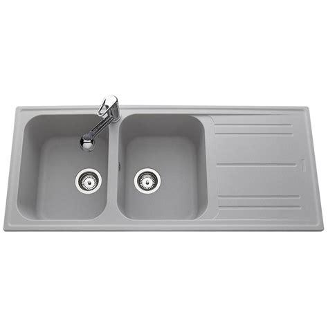mitigeur cuisine design kit cuisine design évier 2 bacs en granit gris holyday
