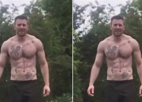 Chris Evans' Abs Steal The Show In 'Avengers: Age Of ...
