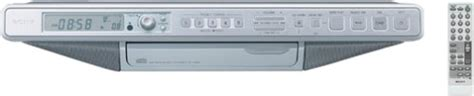 sony under cabinet kitchen cd clock radio how to sony icf cd553rm under cabinet kitchen cd clock