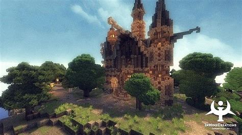 medieval fantasy map minecraftnet