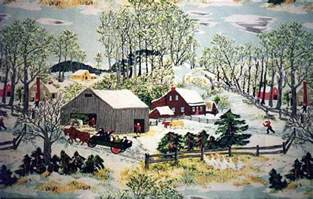 Image result for images of grandma moses art