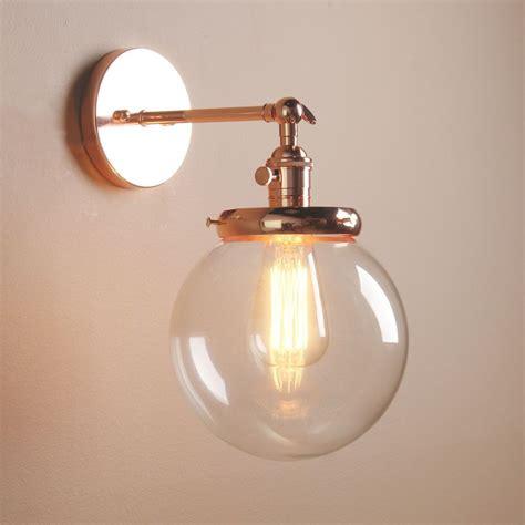 Modern Vintage Bathroom Lighting by Vintage Industrial Wall L Antique Sconce Globe Glass