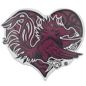 South Carolina Gamecock Decal