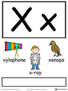 words starting with letter x