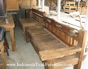 RECYCLED WOOD FURNITURE FACTORY INDONESIA