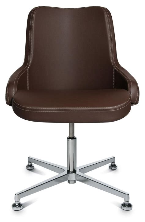 siege bureau design fauteuil de bureau manager marron