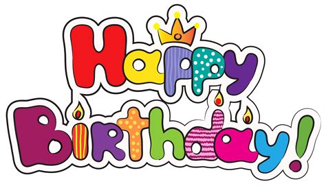 Happy Birthday Clipart Happy Birthday Clipart Free Clipground