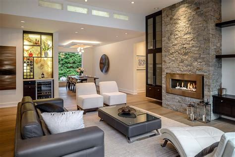 Home Interior Uniqe : Beautifully Crafted Contemporary Custom Home In British