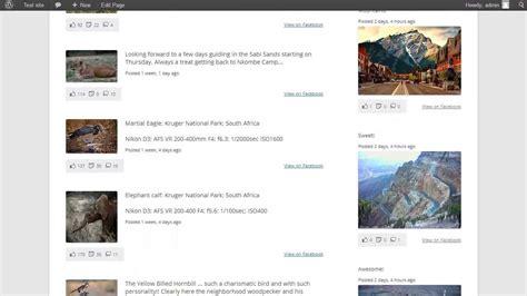 Overview Of The Custom Facebook Feed Wordpress Plugin
