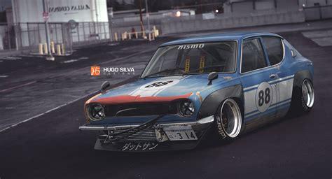 Datsun 100a by Artstation Datsun 100a Hugo Silva