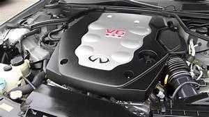 2005 Infiniti G35  Gray - Stock  13785c - Engine