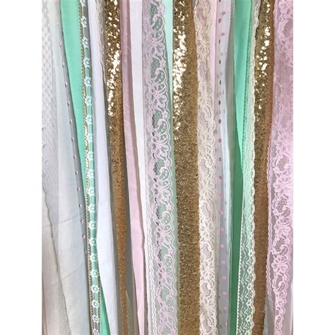 Garland Backdrop by Strawberry Mint Fabric Garland Backdrop Backdrop Express