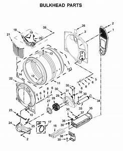 Amana Ned5800hw0 Dryer Parts