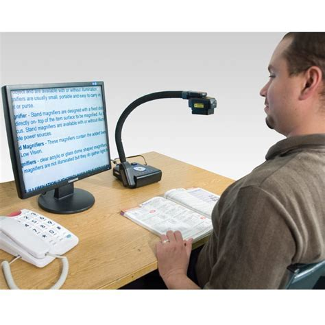 Eye Flex Electronic Magnifier for Low Vision  24 inch