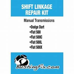 Fiat 500 Abarth Manual Transmission Shift Cable Repair Kit