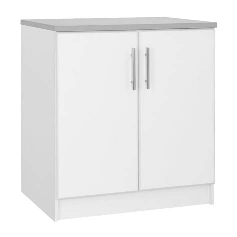 Hton Bay Cabinet Doors Only by Hton Bay 36 In H 2 Door Base Cabinet In White Thd90068