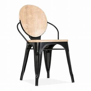 cult living black louis dining chair with wood seat option With chaises salle a manger bois