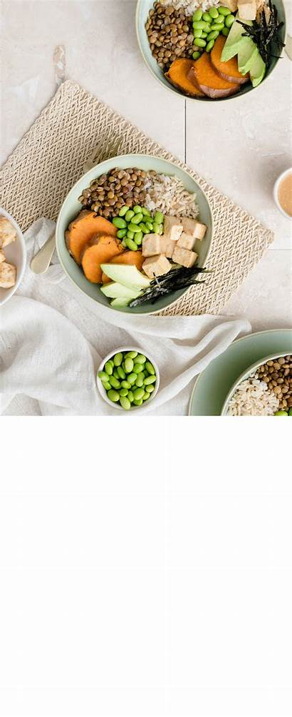 Miso Energy Tofu Lentil Bowl