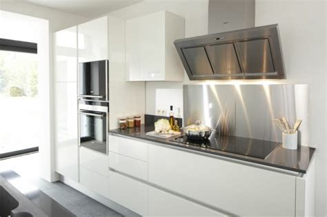 credence cuisine noir et blanc une crédence cuisine voyez les meilleurs idées archzine fr