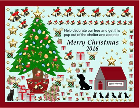 vets adopt pets christmas tree 2016