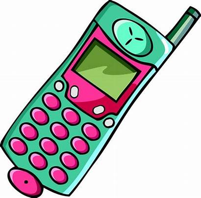 Phone Clipart Animated Clip Mobile Cell Clipartix