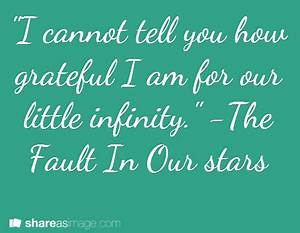 quotes to remember: The Fault In Our Stars Quote