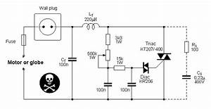 Ac Motor Speed Controller Circuit