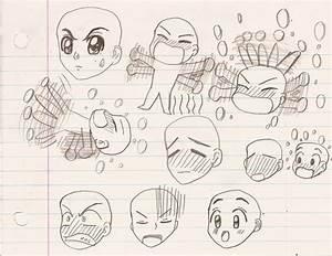Tenma Tsukamoto's Anime Facial Expression sketch 2 by ...