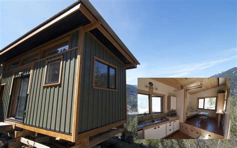 Log Cabin Home Interiors - great tiny homes for retirees