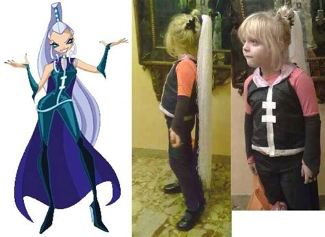 Suit Od Icy From Winx Club ---- Costume Di Carnevale O