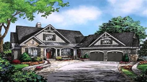 ranch style floor plans with basement sloping lot house plans hillside house plans daylight