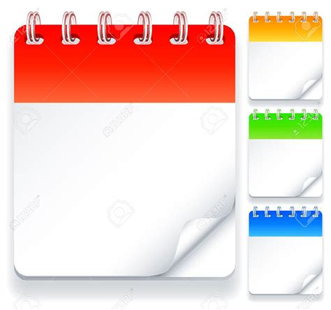 empty calendar blank calendar pages with month and date calendar