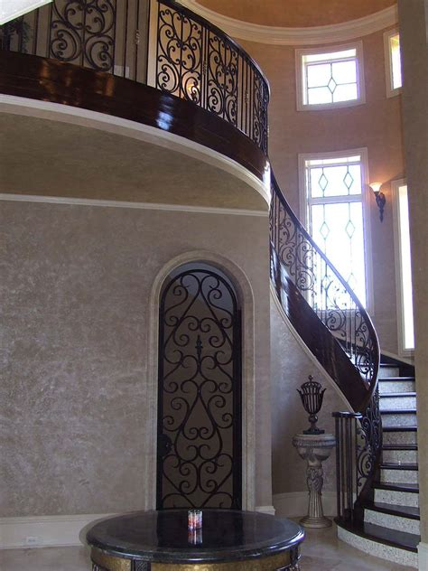 tuscan staircase railings artistic stairs
