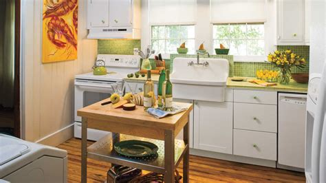retro kitchen ideas stylish vintage kitchen ideas southern living