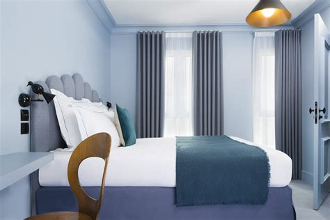 chambre cosy celeste hotel  paris