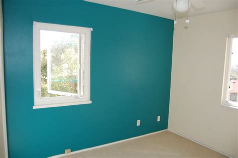 rooms with one wall painted home interior design