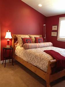 Red, Bedroom, Homejelly